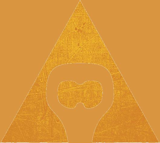 žluto oranžový trojúhelník se symbolem otvíráku na pivo